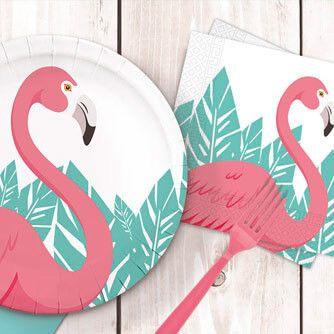 Fiesta Cumpleaños Flamingo