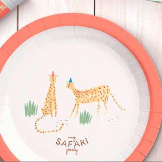 Fiesta Cumpleaños Safari