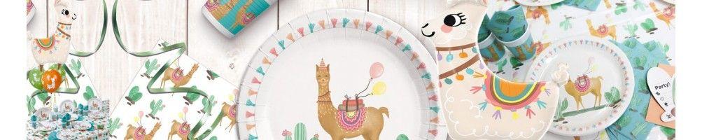 Ideas para Decoración de Fiestas y Cumpleaños de Llama