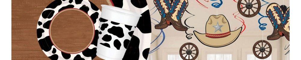 Ideas para Decoración de Fiestas y Cumpleaños de Cowboy