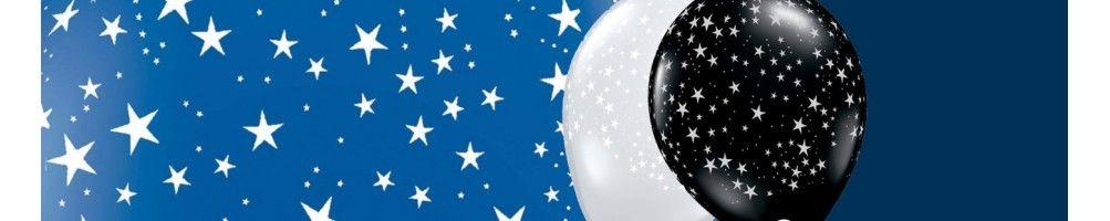 Globos para Cumpleaños Estrellas. Decoracion y Photocall de Estrellas