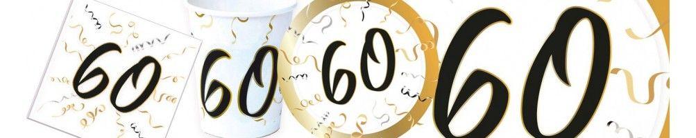 Ideas para Decoración de Fiestas y Cumpleaños de 60 Años