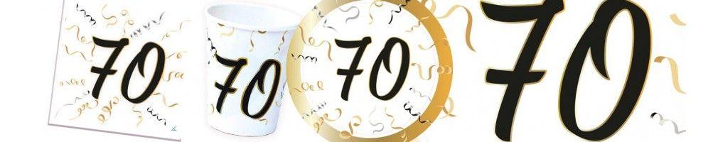 Ideas para Decoración de Fiestas y Cumpleaños de 70 Años