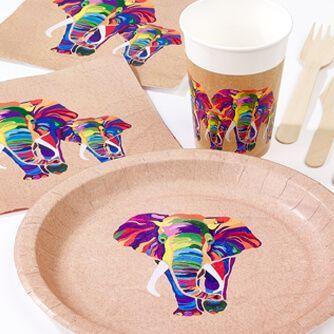 Fiesta Cumpleaños Elephant