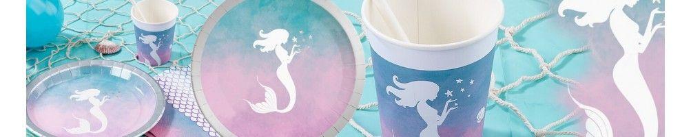 Ideas para Decoración de Fiestas y Cumpleaños de Elegant Mermaid