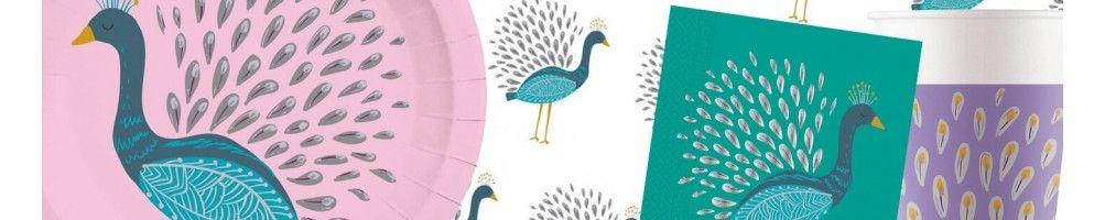 Ideas para Decoración de Fiestas y Cumpleaños de Peacock
