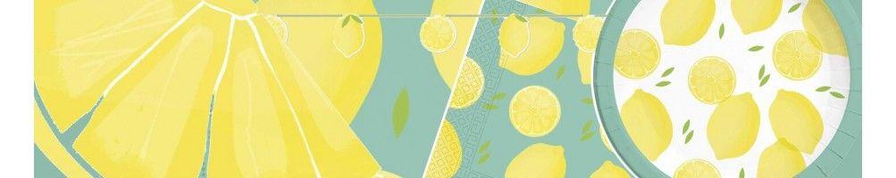Ideas para Decoración de Fiestas y Cumpleaños de Lemons