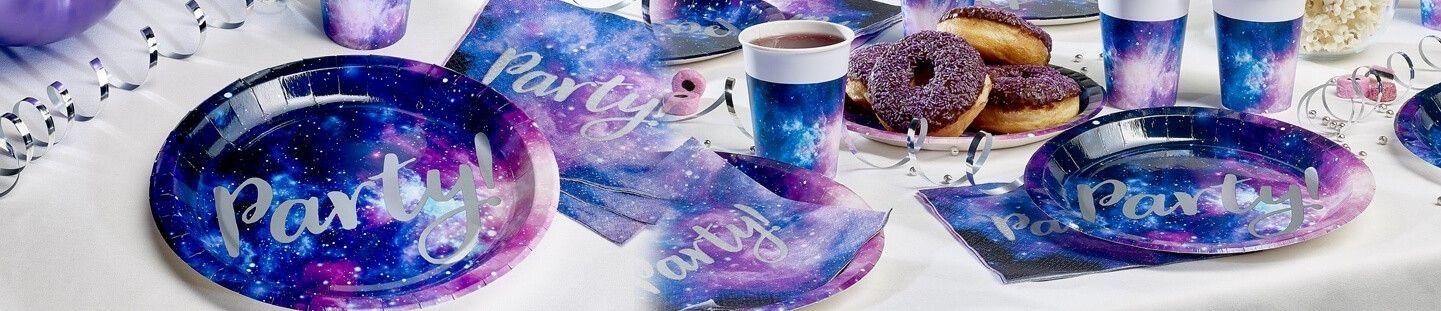 Ideas para Decoración de Fiestas y Cumpleaños de Galaxy