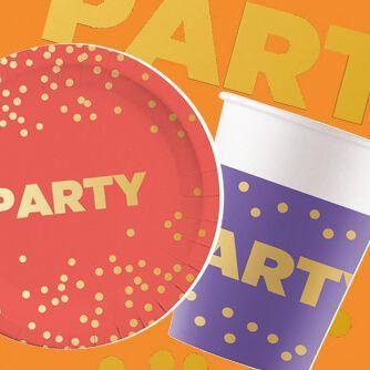 Fiesta Cumpleaños Party Dots