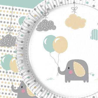 Fiesta Cumpleaños Elephany Baby