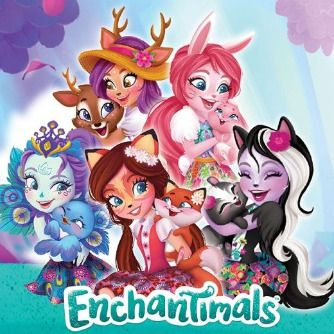 Globos Enchantimals