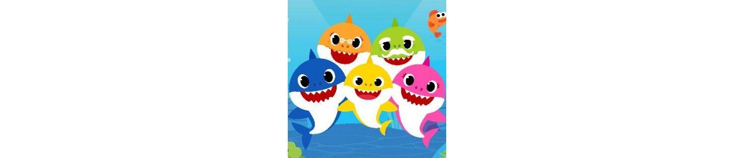 Globos Baby Shark. Decoracion de Cumpleaños Baby Shark