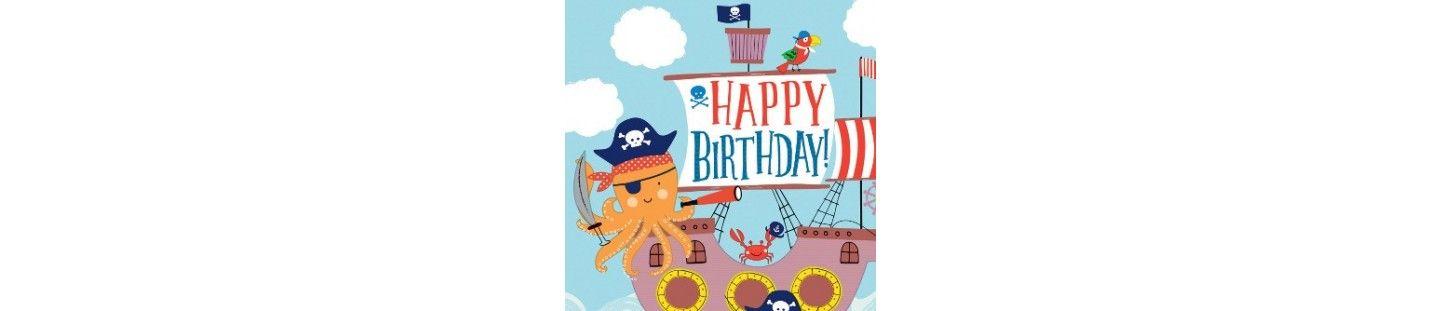 Decoración Fiestas y Cumpleaños Ahoy Birthday