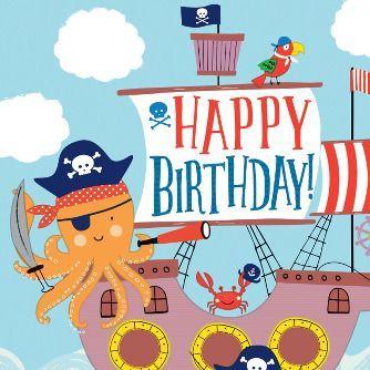 Fiesta Cumpleaños Ahoy Birthday