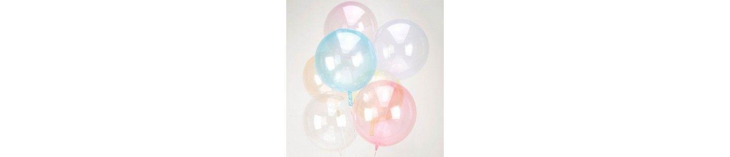 Globos de Helio Esfericos 46cm para Decoración de Cumpleaños y Fiestas