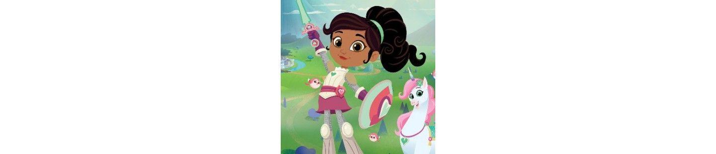 Globos Nella Princesa Valiente. Decoracion Cumpleaños Nella Princesa