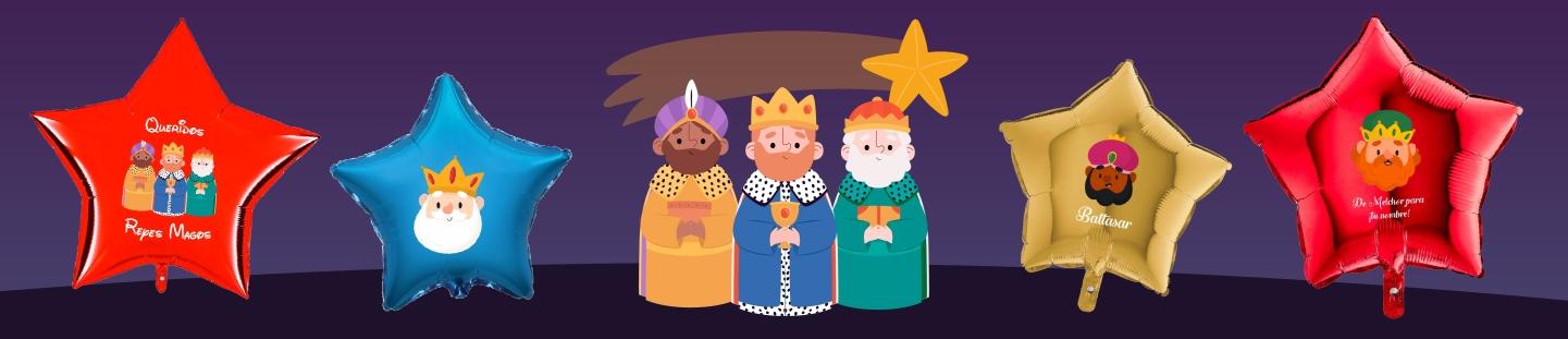 Globos para Reyes Magos. Ideas Originales para Decorarcion de Reyes