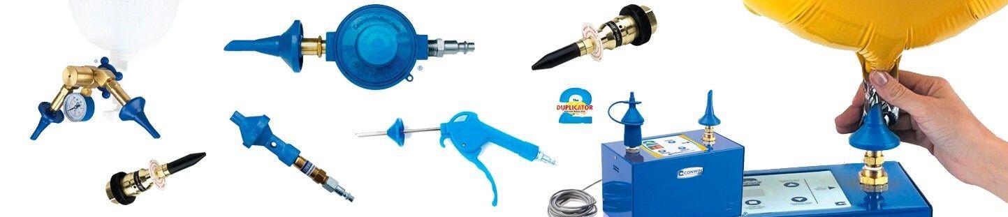 Valvulas para Botellas Helio y Accesorios