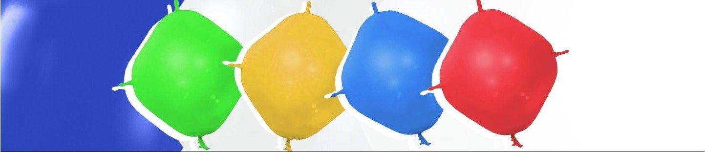 Globos Cuadrados Latex para Decoración con Globos