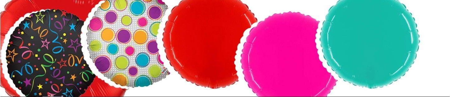 Globos Redondos Foil
