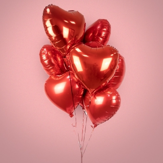 Ramo de Globos San Valentin
