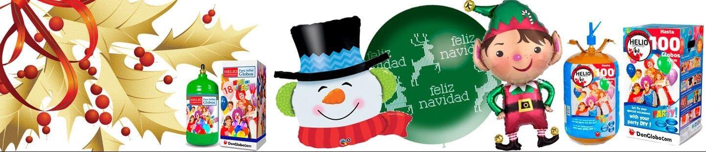 Botellas de Helio Desechables para Navidad y Año Nuevo