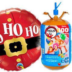 Helio Desechable - Navidad