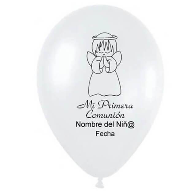 Globos Latex personalizado comunión