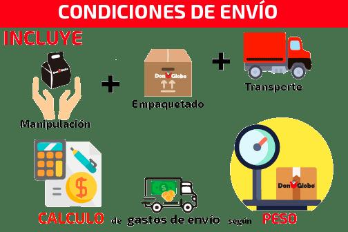 condiciones de envío donglobo