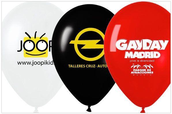 globos personalizados de latex