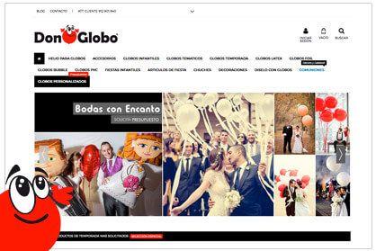 Tienda online DonGlobo