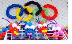 Realizamos decoraciones con globos, podemos ambientar cualqueir espacio creativamente