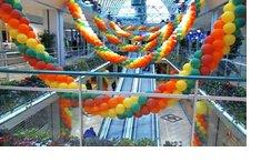 Decoramos centros comerciales, tiendas, oficinas, salones de fiesta con globos