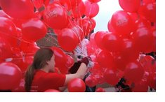 eventos con globos, reparto de globos, servicio en todo España