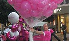 Promociona tu arca con nuestros globos, servicio en todo España