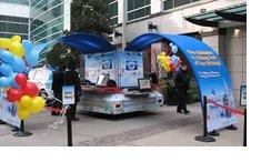 Decoraciones de Stand promocionales con globos