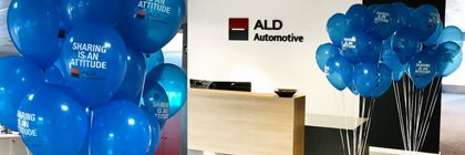 Decoración Globos Personalizados ALD Automotive
